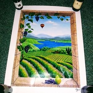 Other - Signed Wine Country Print